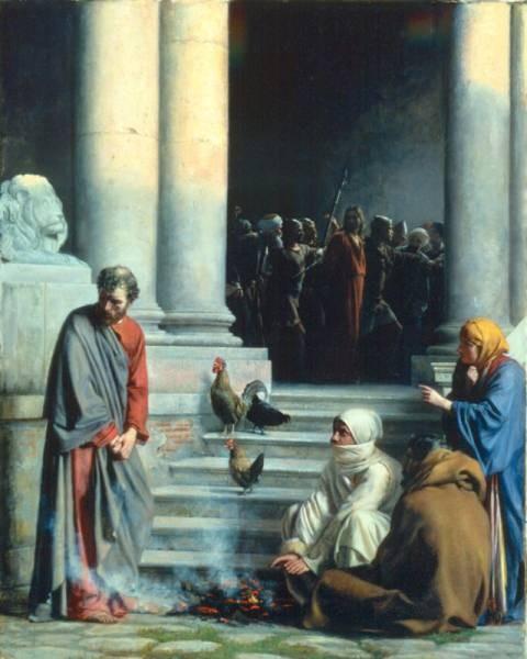 Carl Heinrich Bloch Peter s Betrayal